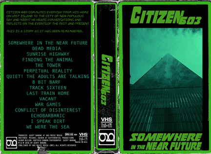 Somewhere In The Near Future - VHS clamshell