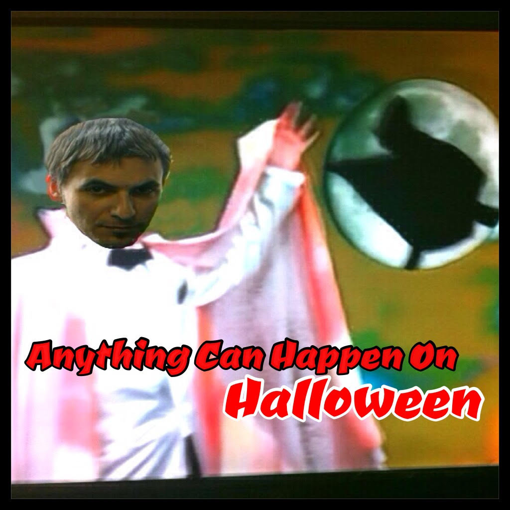 Geoff Barone cover of Anything Can Happen On Halloween from The Worst Witch